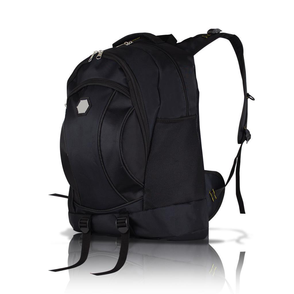 50LT Notebook Gözlü Dağcı Seyahat Sırt Çantası - Siyah